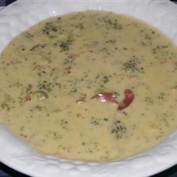Broccoli Cheese Soup VIII amy beth