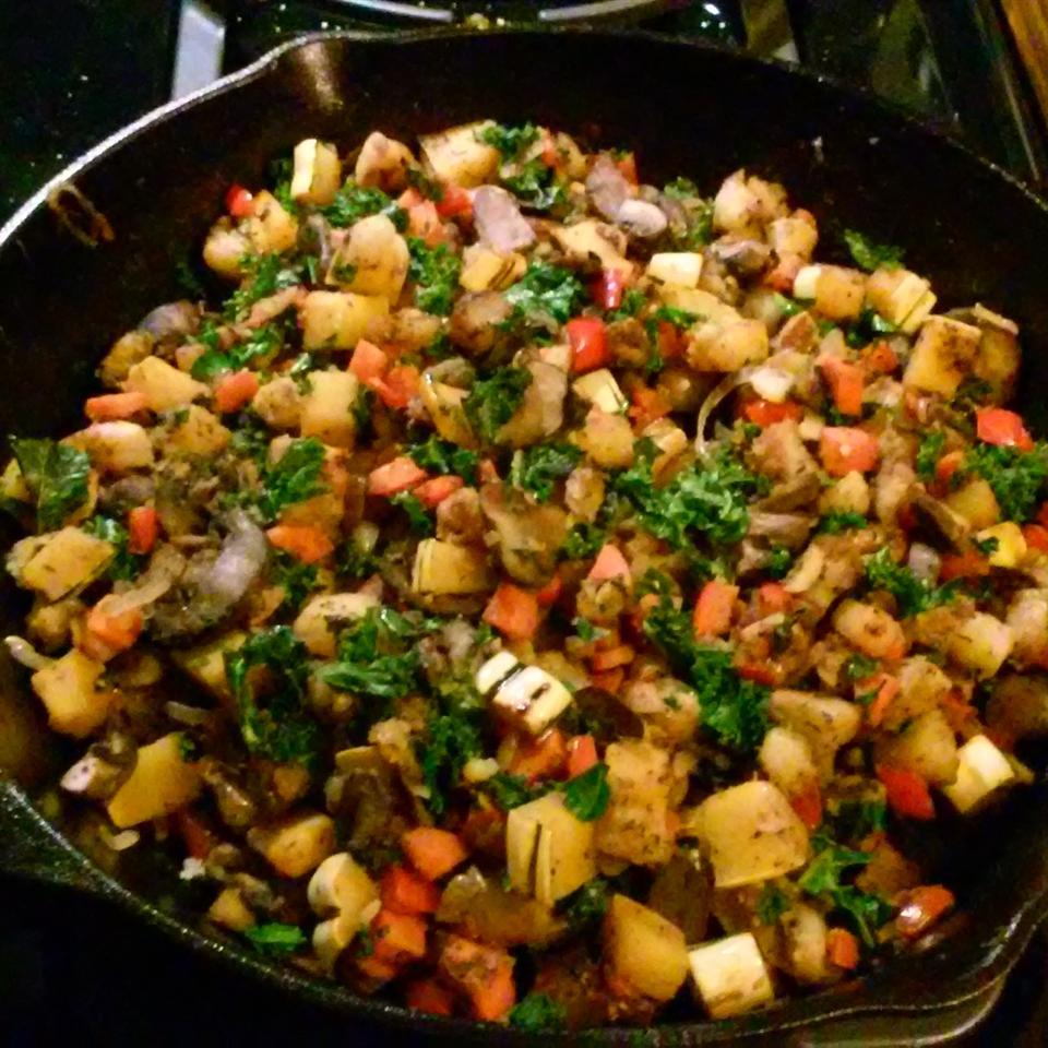 Winter Vegetable Hash