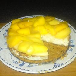 Trini Mango Cheesecake