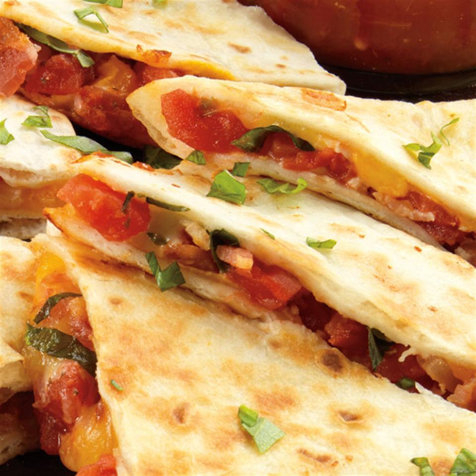 Bacon and Tomato Quesadillas Trusted Brands