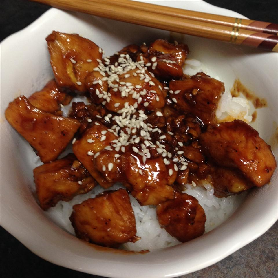 Sweet, Sticky and Spicy Chicken jrusk1