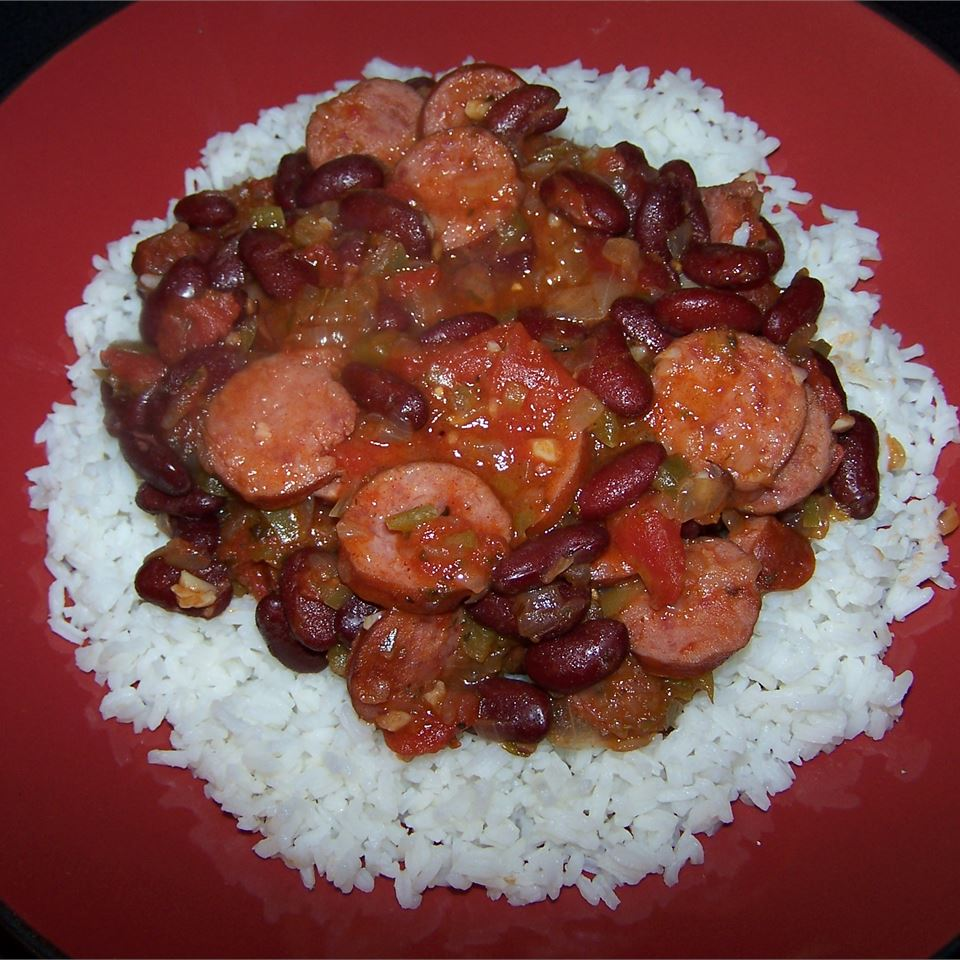 Easy Red Beans and Rice Steve