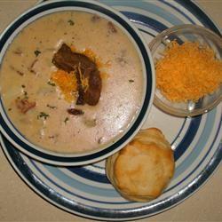 Quick Creamy Potato Soup CHUNK