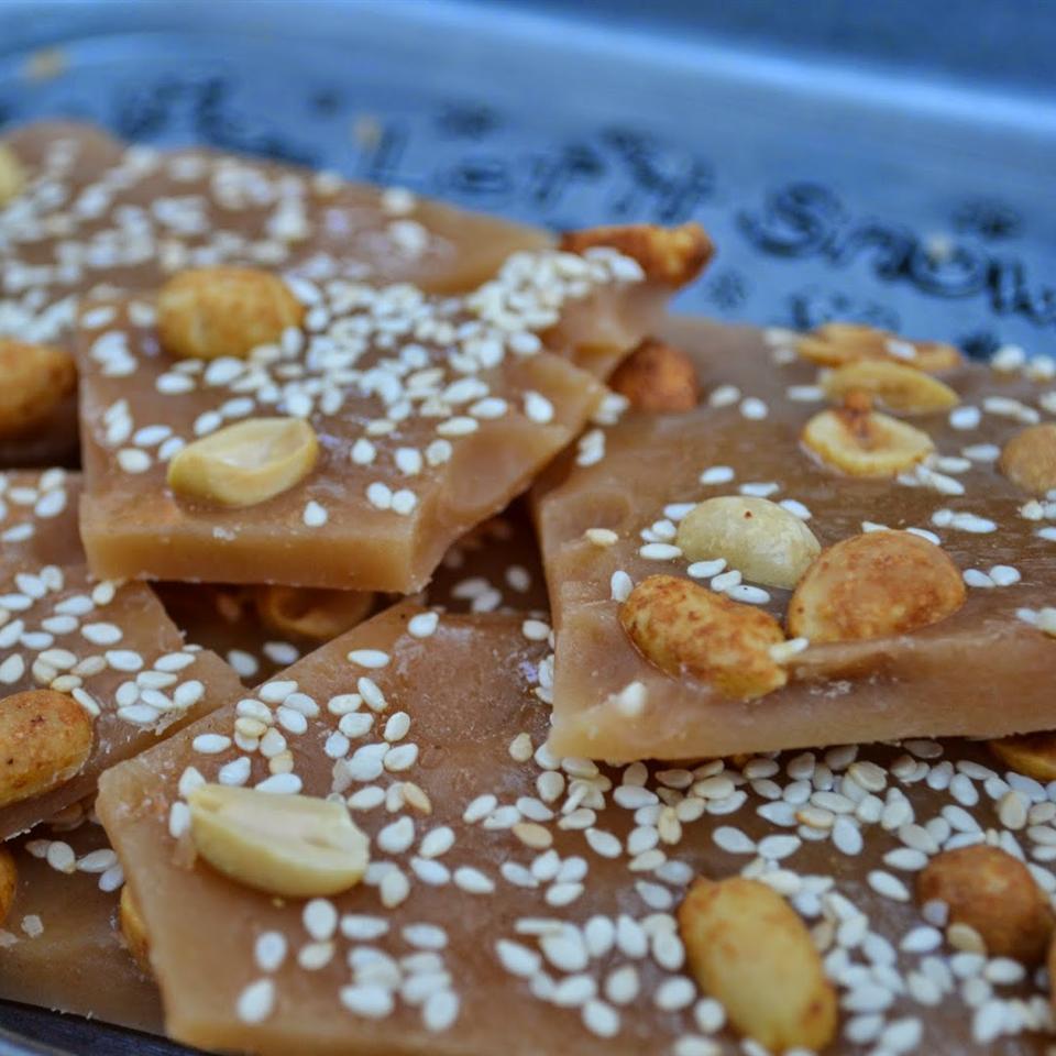 Salted Caramel Nut Brittle Rebekah Rose Hills