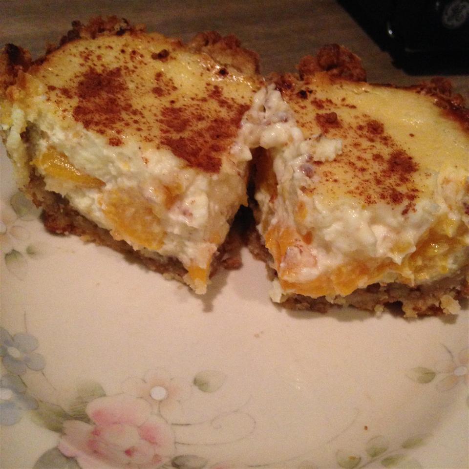 Peach and Cream Cheese Torte MissAmsr