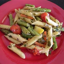 No-Cream Pasta Primavera