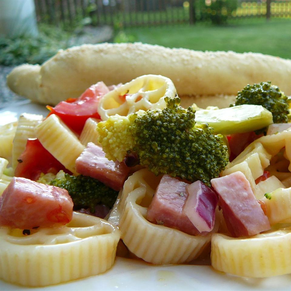Ham Skroodle Salad Molly