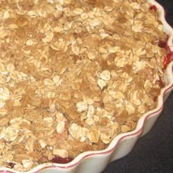 Apple-Raspberry Crisp Chef4Six