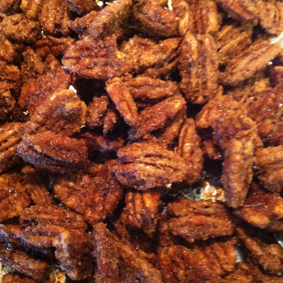 Spiced Pecans 4theLoveOfBaking