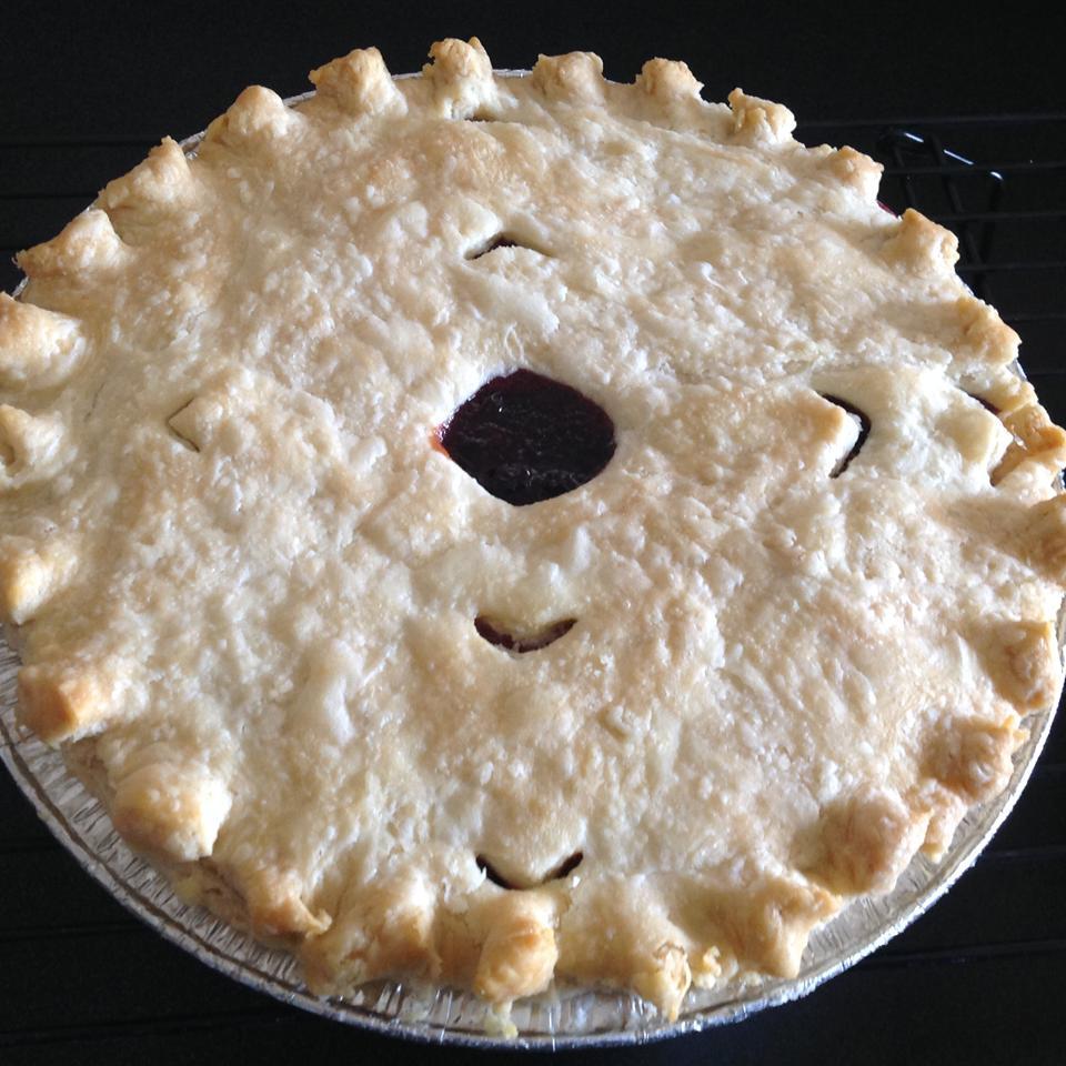 Saskatoon Berry (Serviceberry) Pie Deb Wigton