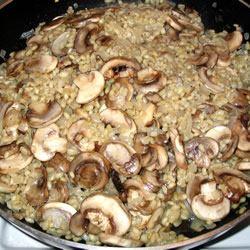 Barley Mushroom Risotto Mark P