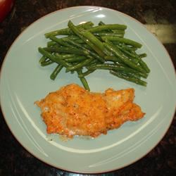 Baked Cod with Roasted Red Pepper Horseradish Sauce Scott in  MA
