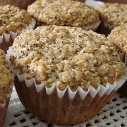 Poppy Seed and Banana Muffins Cookies