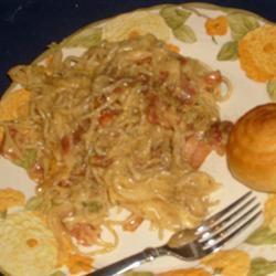 Bacon & Eggs Spaghetti ANDREASKYE