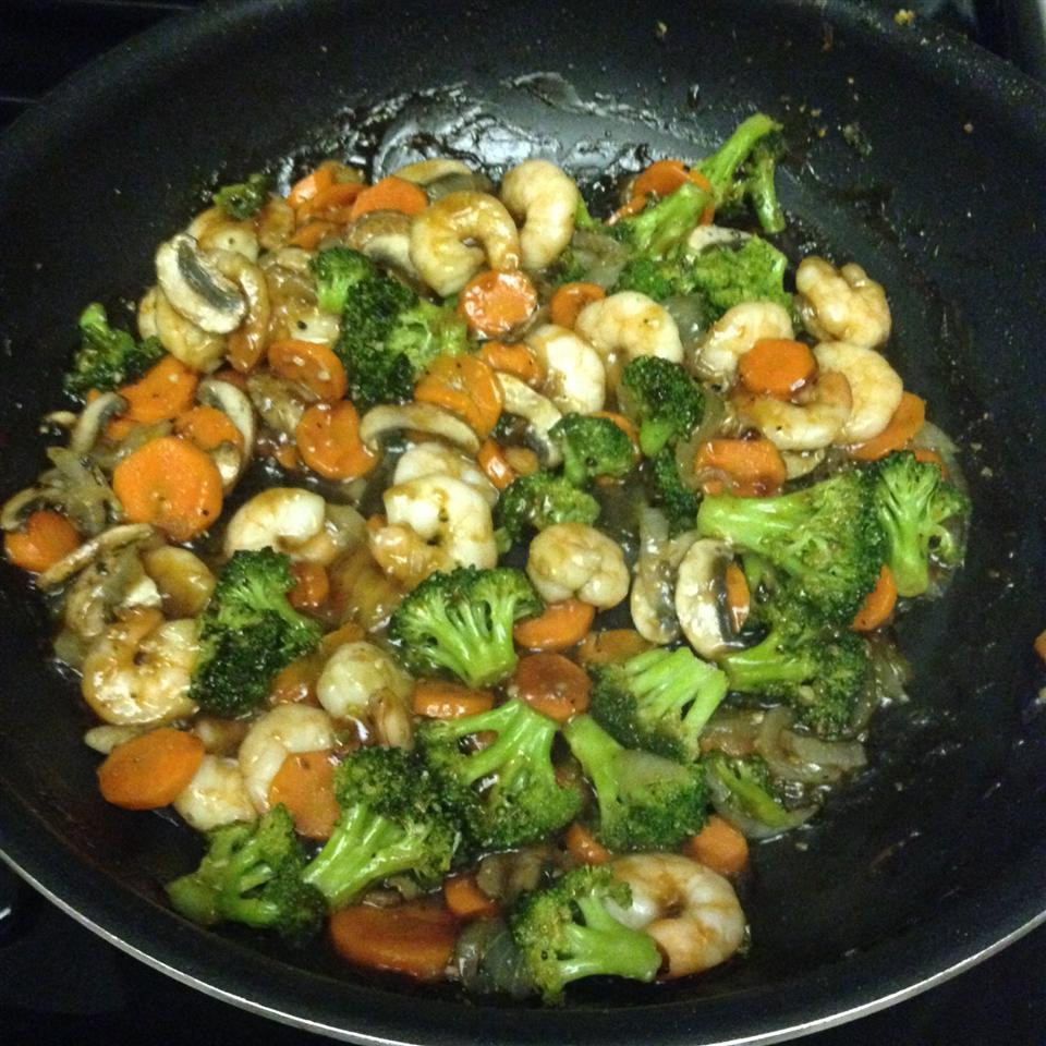 Easy Shrimp Vegetable Stir Fry kilah1