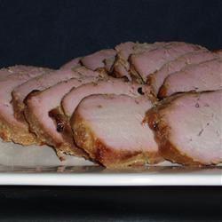 Grilled Ginger-Peanut Pork Tenderloin