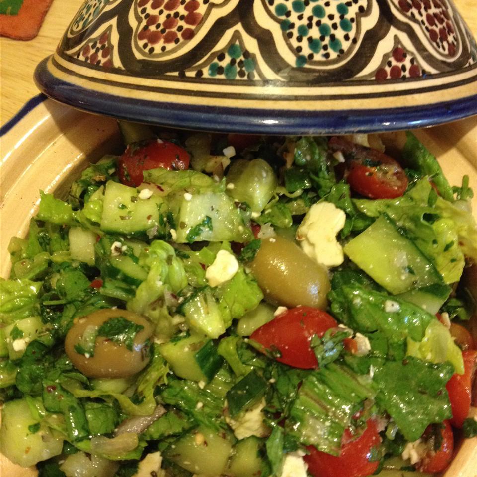 Arabic Fattoush Salad TUNISIANSWIFE