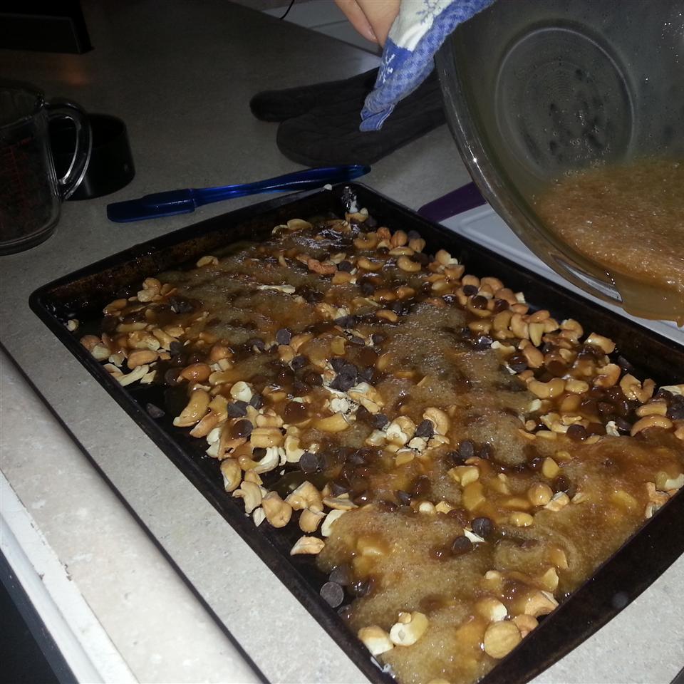 Easy Cashew Sea Salt Toffee Noah Weisberg