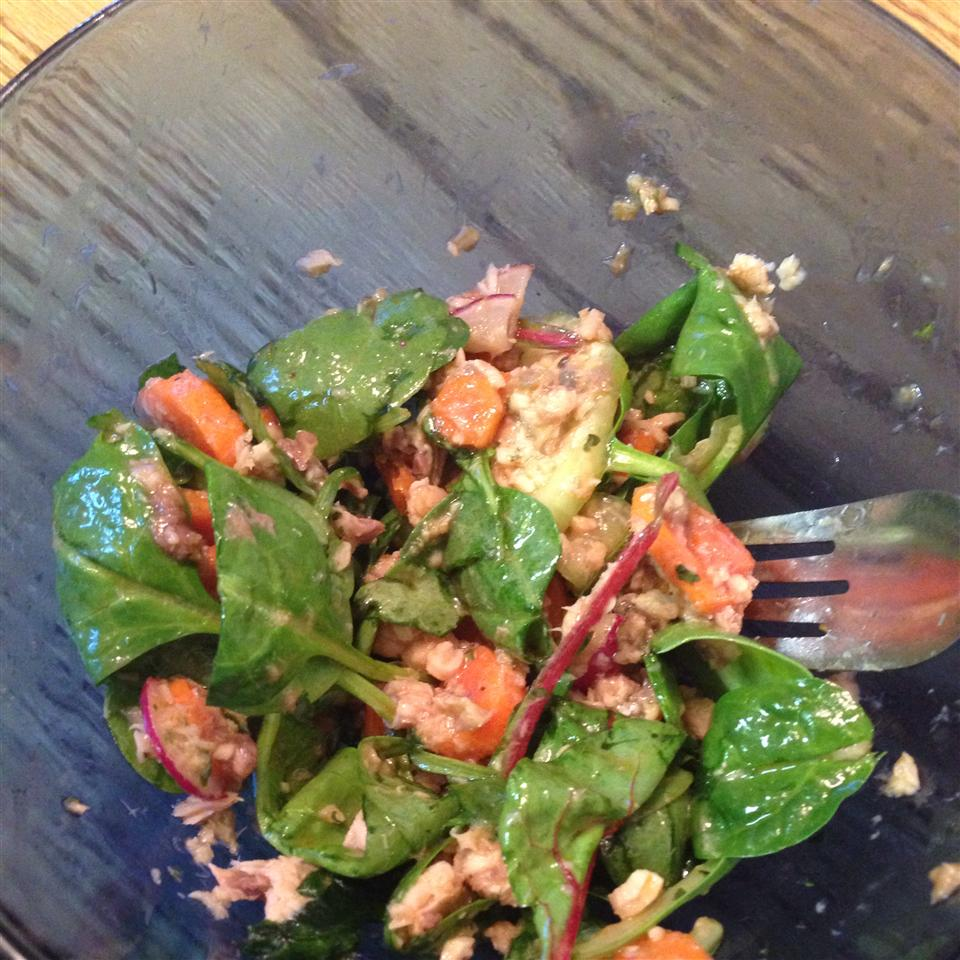 Asian Salmon Salad vyse347