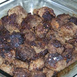 Honey-Garlic Moose Meatballs Darryl