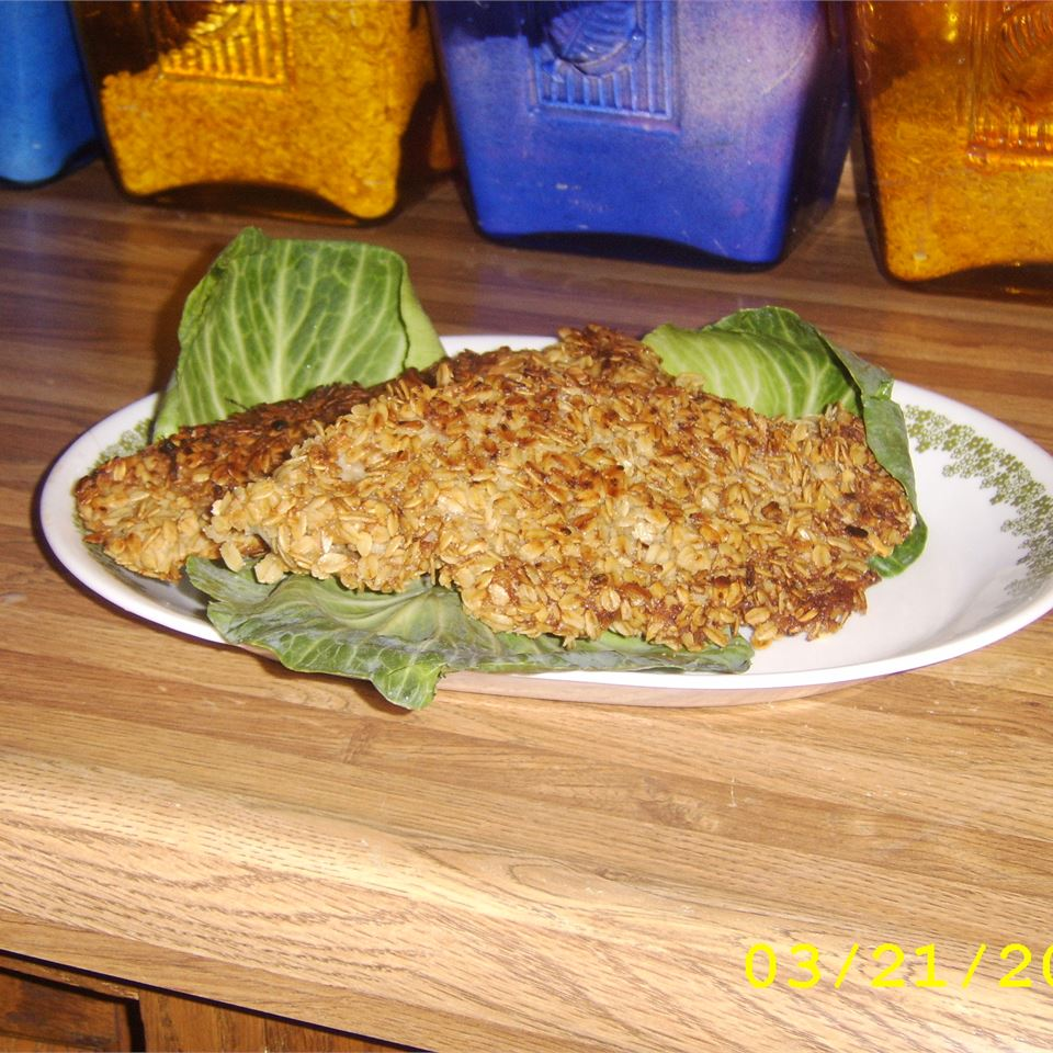 Oat Crusted Fish Anonymous
