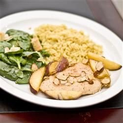 Moroccan Peach Roasted Chicken David
