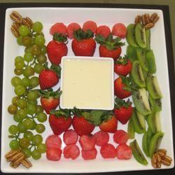 Unbelievably Good Fruit Dip Miranda's