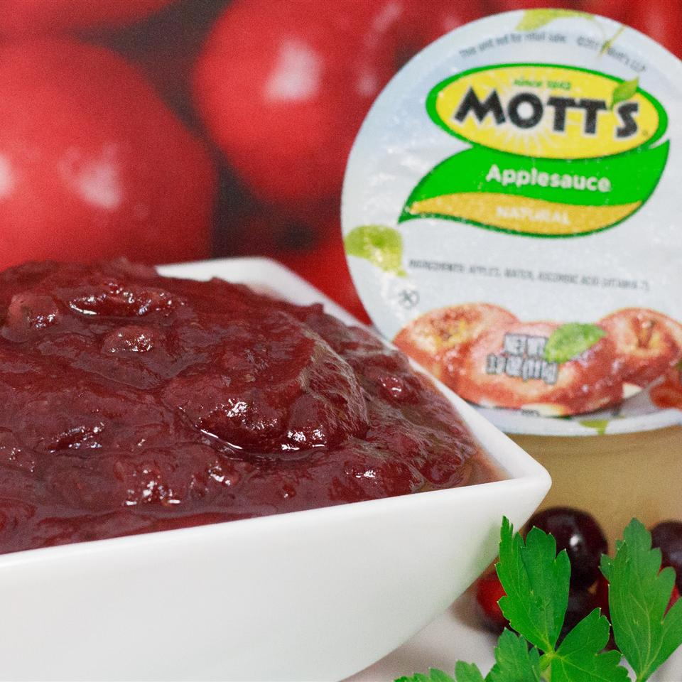 Apple Cranberry Relish from Mott's® Melissa Goff