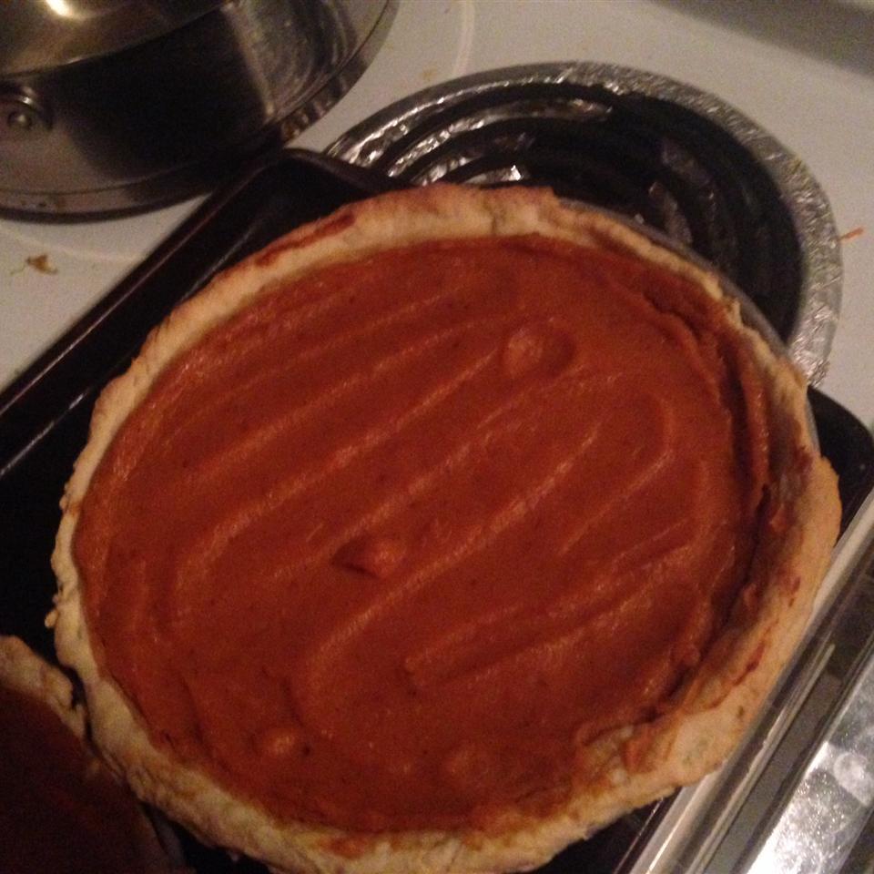 Mom's Sweet Potato Pie court