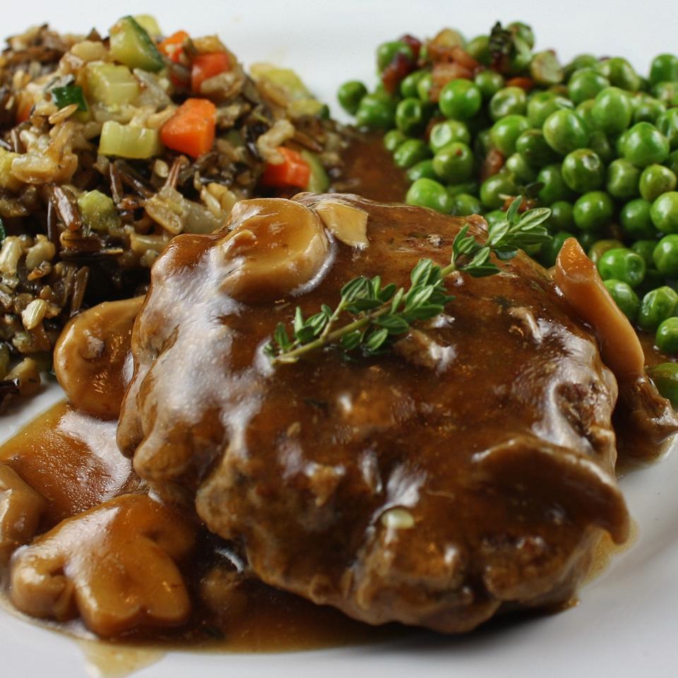 Salisbury Steak with Mushrooms Krystal Wetter