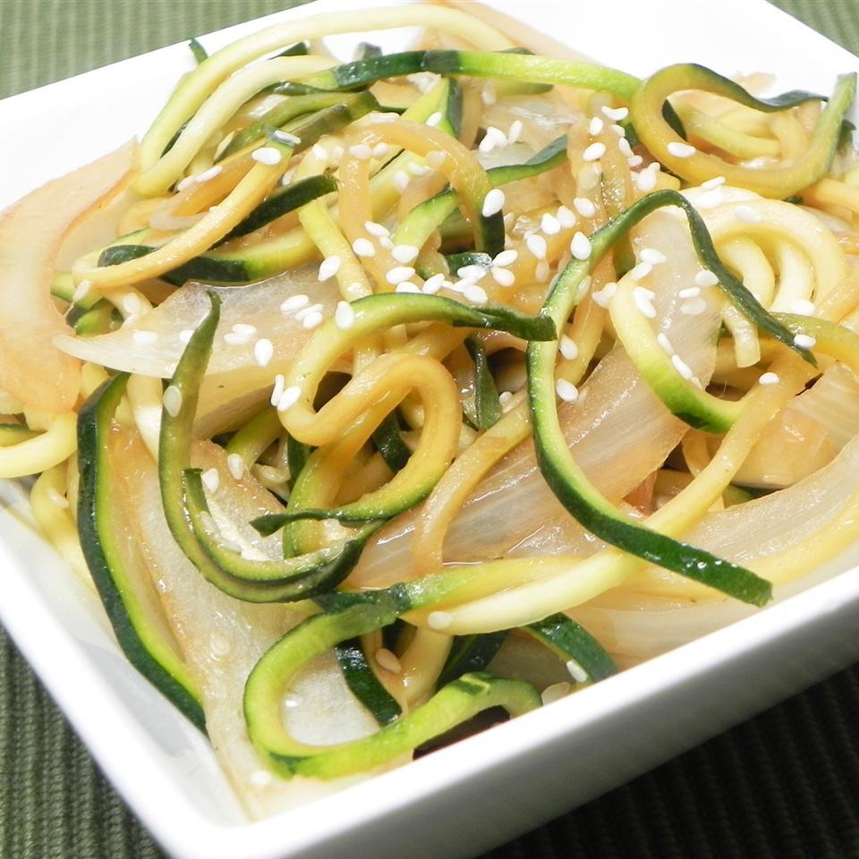 Japanese Zucchini and Onions