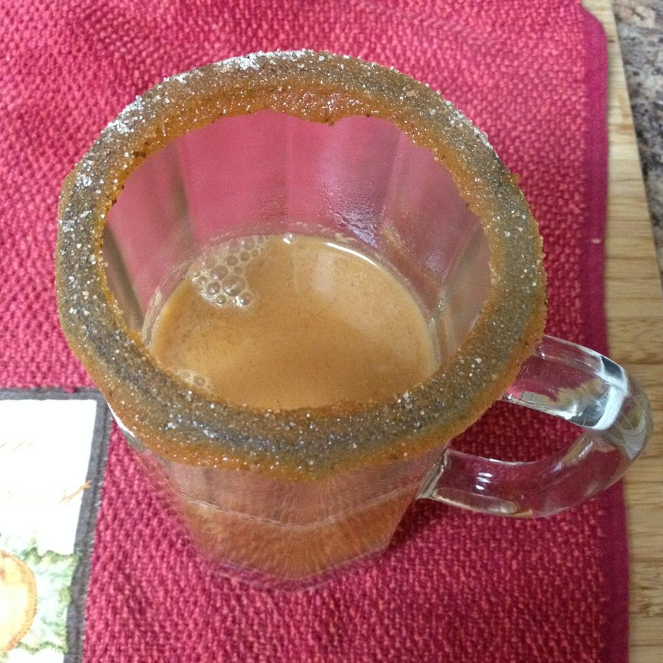 Caramel Apple Cider with Salty-Sweet Rim Jacolyn