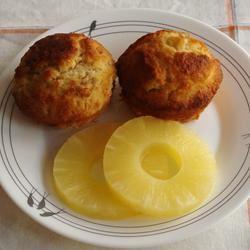 Caribbean Banana Muffins