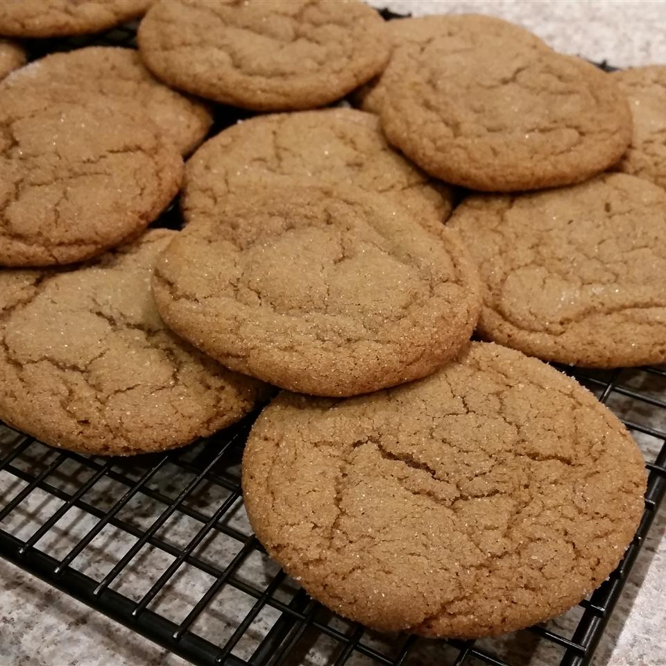 Big Soft Ginger Cookies Jenny