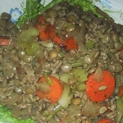Lentil and Buckwheat Salad sueb