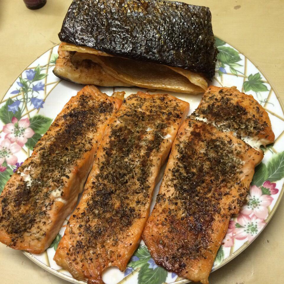 Herbed Salmon whtip