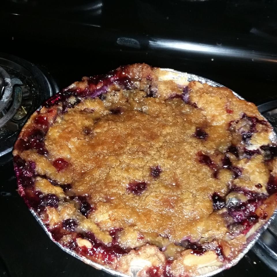True Blue Custard Crunch Pie Lorrie L