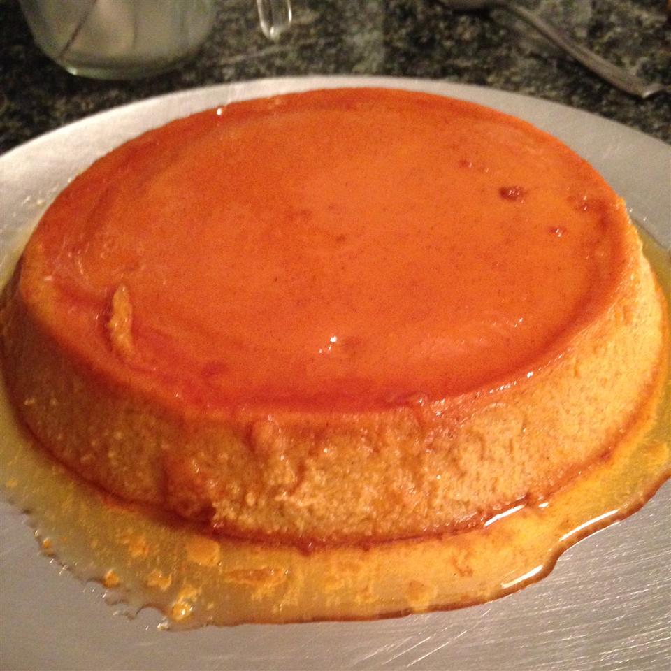 Pumpkin Pie Flan An