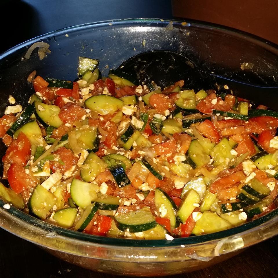 Tomato, Basil, and Feta Salad Rebecca Clinton Nichols