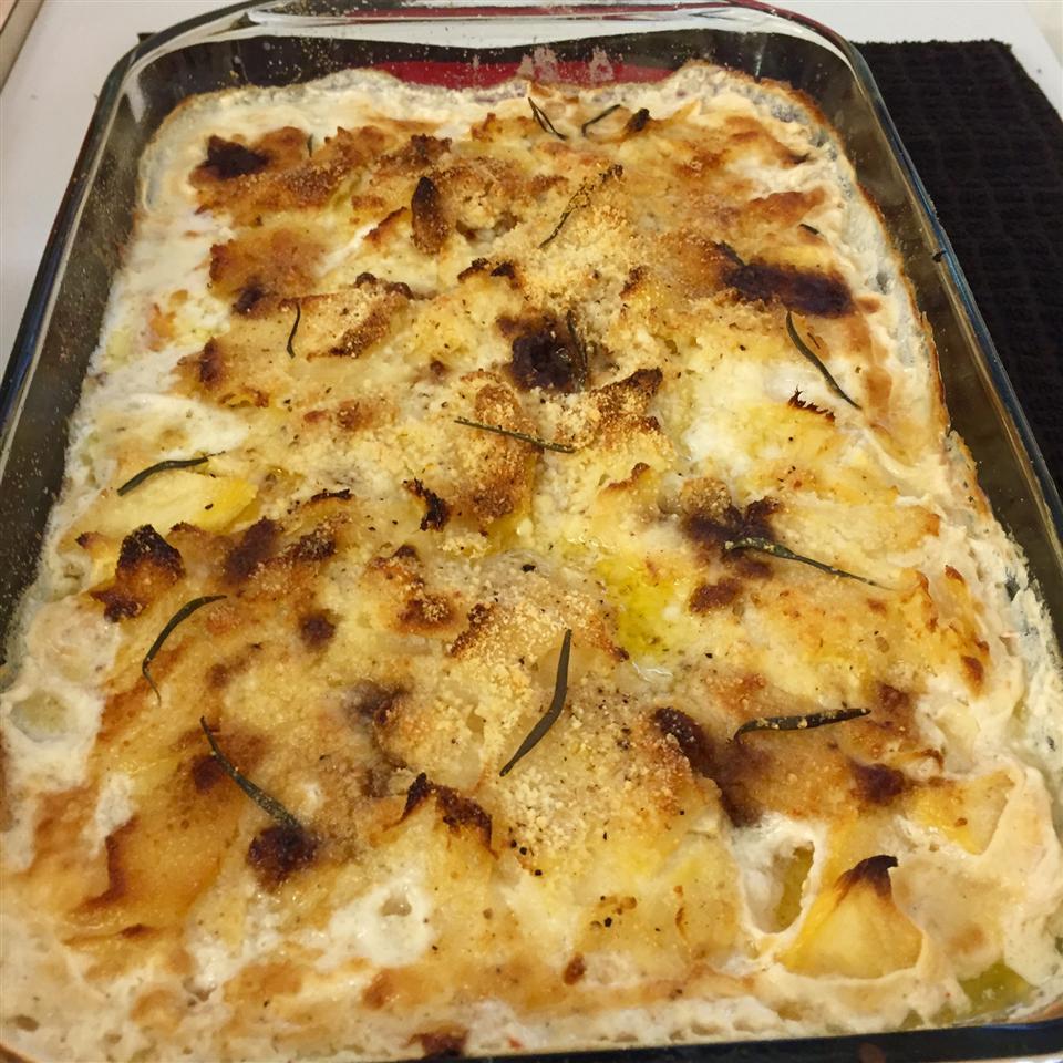 Scalloped Potatoes II LowCarbLongIslandsoundguy