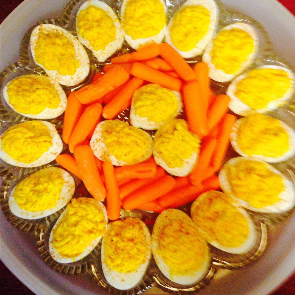 Creamy Cajun Deviled Eggs