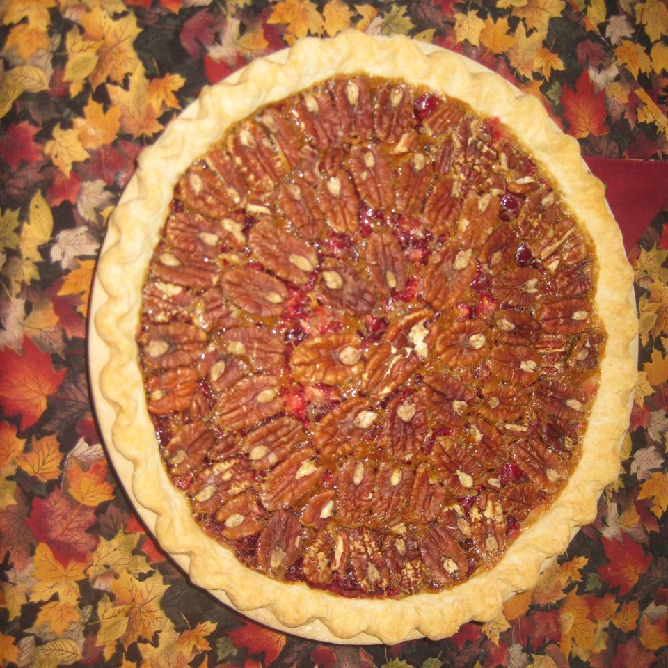 Cranberry Pecan Pie image