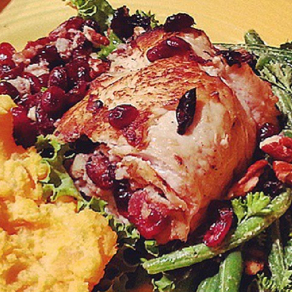 Cranberry Stuffed Turkey Breasts Dylan Friss