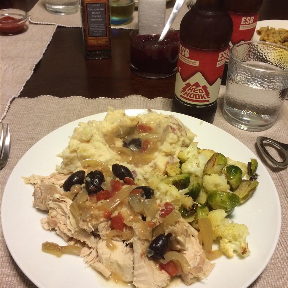 Slow Cooker Mediterranean Roast Turkey Breast Tony