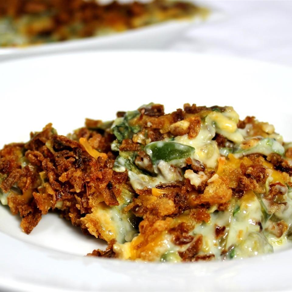 Spinach-Green Bean Casserole