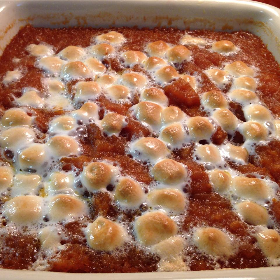 Candied Sweet Potatoes kitchenwiccan