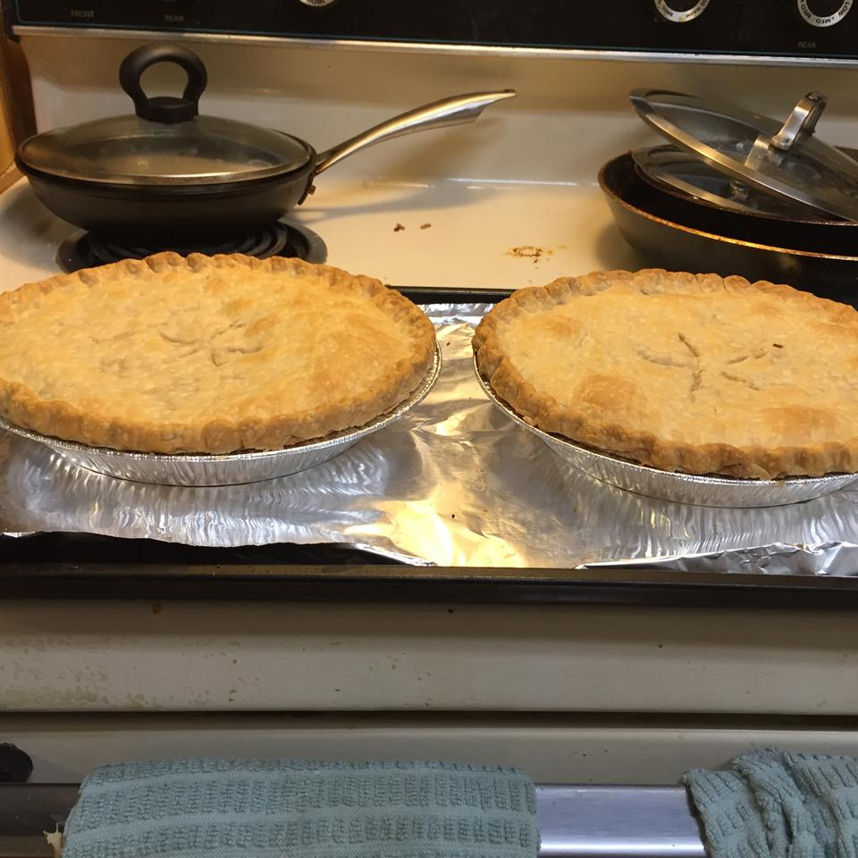 Dad's Leftover Turkey Pot Pie Sarah Rishel