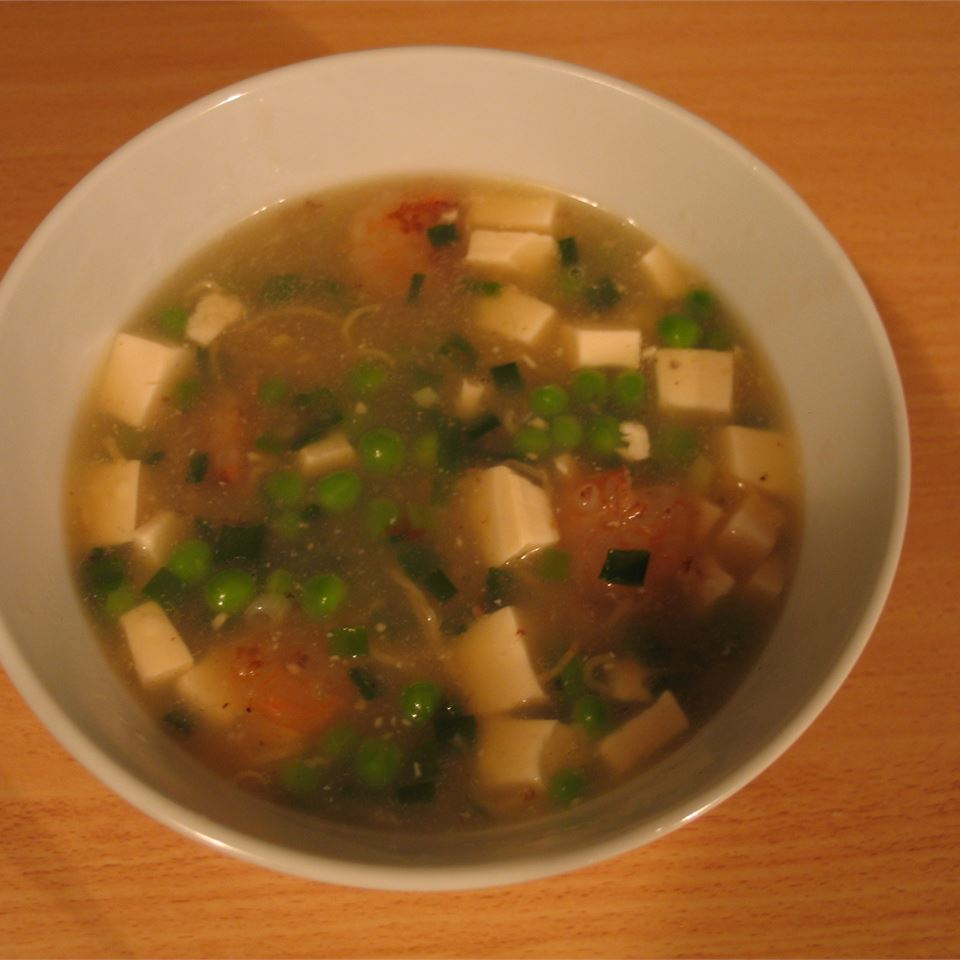 Chinese Shrimp and Tofu Soup Dutch