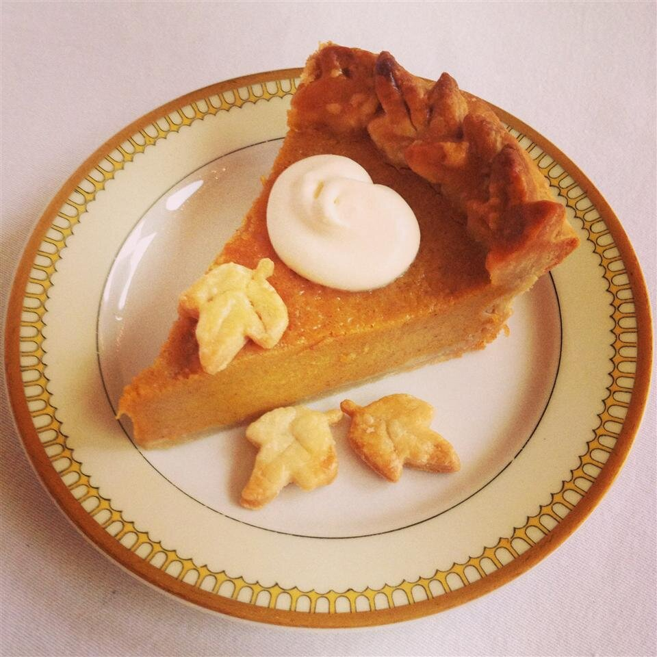 chef johns pumpkin pie