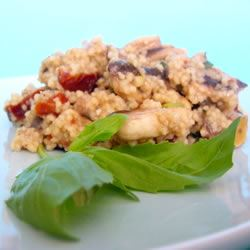 Couscous with Mushrooms and Sun-Dried Tomatoes SunFlower